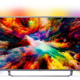 Televizor LED Philips 165 cm (65inch) 65PUS7303/12, Ultra HD 4K, Smart TV, Android TV, Ambilight, WiFi, CI+