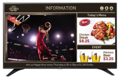 Televizor LED LG 139 cm (55inch) 55LV640S, Full HD, Smart TV, WiFi