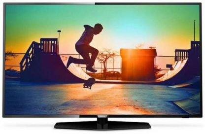 Televizor LED Philips 109 cm (43inch) 43PUS6162/12, Ultra UD 4K, Smart TV, WiFi, CI+
