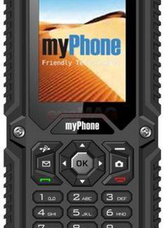 Telefon Mobil myPhone Hammer, Dual Sim, Rezistent la apa si praf (Negru)