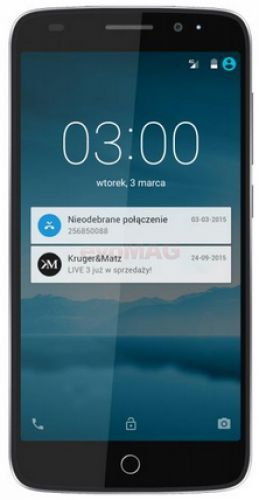 Telefon Mobil Kurger&Matz Live 3, Procesor Octa-Core 1.7GHz / 1.0GHz, IPS Capacitive touchscreen 5inch, 2GB RAM, 16GB Flash, 13MP, 4G, Wi-Fi, Dual Sim, Android (Gri)