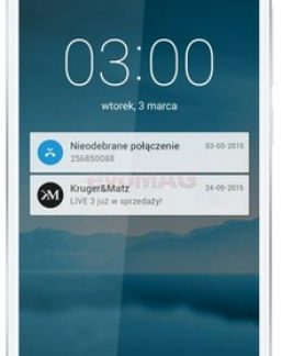 Telefon Mobil Kurger&Matz Live 3, Procesor Octa-Core 1.7GHz / 1.0GHz, IPS Capacitive touchscreen 5inch, 2GB RAM, 16GB Flash, 13MP, 4G, Wi-Fi, Dual Sim, Android (Alb)