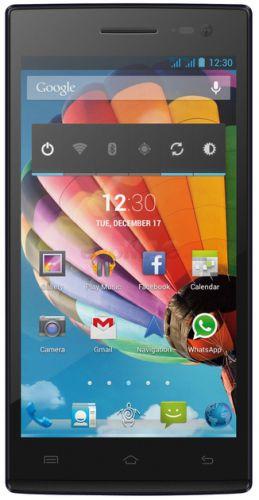 Telefon mobil Mediacom PhonePad Duo X500U, Procesor Quad-Core MediaTek MTK6582 1.3GHz, IPS LCD Capacitive touchscreen 5inch, 1GB RAM, 16GB Flash, 8MP, Wi-Fi, 3G, Dual Sim (Albastru)