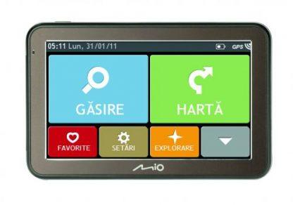"""Sistem de navigatie Mio Spirit 7670 LM, Ecran 5"""", Procesor 800MHz, Actualizari pe viata a hartilor, TMC, Mod camion, Harta Full Europa"""