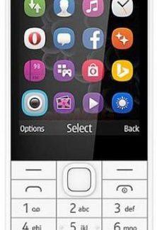 Telefon Mobil Nokia 230, TFT 2.8inch, 2MP, Dual Sim (Argintiu)
