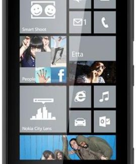 Telefon Mobil Nokia Lumia 620, Procesor Krait 1GHz, Windows Phone 8, TFT capacitive touchscreen 3.8inch, 512MB RAM, 8GB flash, Wi-Fi, 3G (Negru)