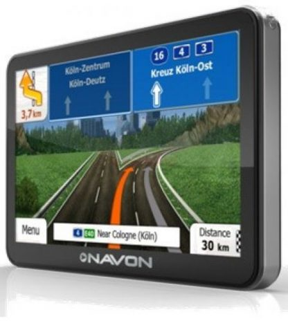 Sistem de navigatie Navon N675 Plus, TFT LCD Capacitive touchscreen 5inch, Procesor 800Mhz, 128MB RAM, 4GB Flash, Bluetooth, Full Europa