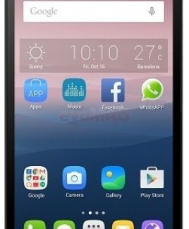 Telefon Mobil Alcatel Pop 3 5065D, Procesor Quad-Core 1.1GHz, TFT Capacitive touchscreen 5inch, 1GB RAM, 8GB Flash, 5MP, Wi-Fi, 4G, Dual Sim, Android (Argintiu)