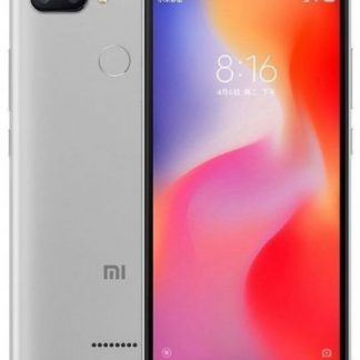Telefon Mobil Xiaomi Redmi 6, Procesor Octa-Core 2GHz, IPS LCD capacitive touchscreen 5.45inch, 3GB RAM, 32GB Flash, Camera Duala 12+5MP, Wi-Fi, 4G, Dual Sim, Android (Gri)