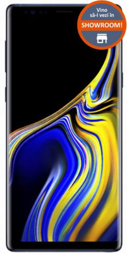 Telefon Mobil Samsung Galaxy Note 9, Procesor Octa-Core Exynos 9810, Super AMOLED Capacitive touchscreen 6.4inch, 8GB RAM, 512GB Flash, Camera duala 12MP, 4G, Wi-Fi, Dual Sim, Android (Ocean Blue)