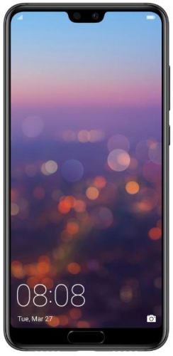 Telefon Mobil Huawei P20 Pro, Procesor Octa-Core 2.36/1.8 GHz, OLED Capacitive touchscreen 6.1inch, 6GB RAM, 128GB Flash, Camera Tripla 40+20+8MP, Wi-Fi, 4G, Single SIM, Android (Negru)