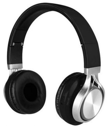 Casti Stereo Media-Tech Sirius MT3582, Bluetooth, Radio FM (Negru/Argintiu)