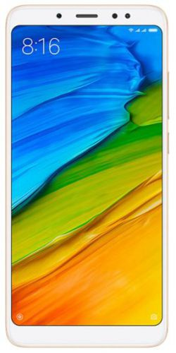 Telefon Mobil Xiaomi Redmi Note 5, Procesor Octa-Core 1.8GHz, IPS LCD capacitive touchscreen 5.99inch, 4GB RAM, 64GB Flash, Camera Duala 12+5MP, Wi-Fi, 4G, Dual Sim, Android (Auriu)