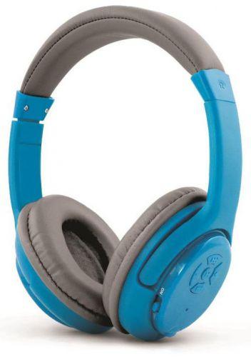 Casti Stereo Esperanza Libero EH163B, Bluetooth, Microfon (Albastru)
