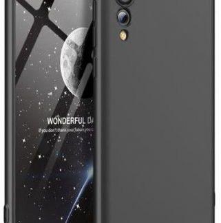 Protectie Spate GKK 360 pentru Huawei P20 Pro (Negru/Argintiu)