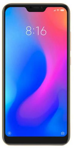 Telefon Mobil Xiaomi Mi A2 Lite, Procesor Octa-Core 2.0GHz, IPS LCD Capacitive touchscreen 5.84inch, 4GB RAM, 64GB Flash, Camera Duala 12+5MP, Wi-Fi, 4G, Dual Sim, Android (Auriu)
