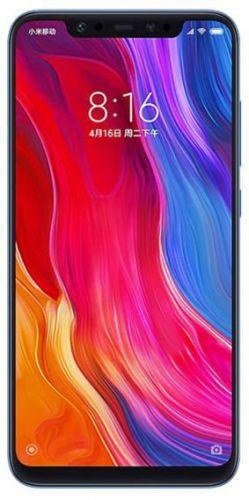 Telefon Mobil Xiaomi Mi 8, Procesor Octa-Core 2.8GHz/1.8GHz, Super AMOLED capacitive touchscreen 6.21inch, 6GB RAM, 64GB Flash, Camera Duala 12+12MP, Wi-Fi, 4G, Dual Sim, Android (Albastru)