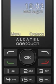 Telefon Mobil Alcatel 1016, TFT 1.8inch (Negru)