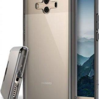 Protectie Spate Ringke Fusion pentru Huawei Mate 10 (Transparent Fumuriu)