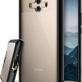 Protectie Spate Ringke Fusion pentru Huawei Mate 10 (Negru Transparent)