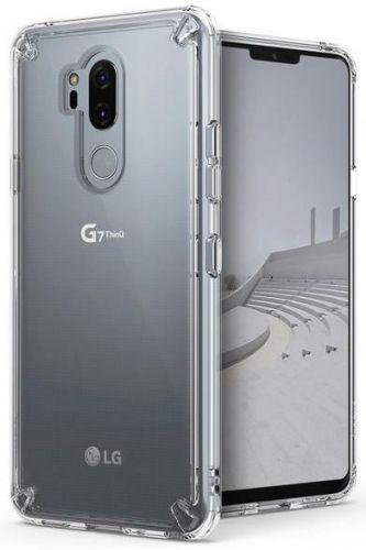 Protectie Spate Ringke Fusion pentru LG G7 ThinQ (Transparent)