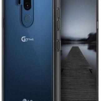 Protectie Spate Ringke Fusion pentru LG G7 ThinQ (Transparent Fumuriu)