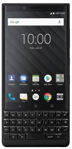 Telefon Mobil BlackBerry Key 2, Procesor Octa-Core 1.8GHz/2.2GHz, IPS LCD Capacitive Touchscreen 4.5inch, 6GB RAM, 64GB Flash, Dual 12MP, Wi-Fi, 4G, Android, Dual SIM (Negru)