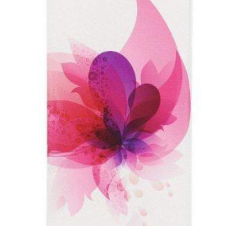 Husa Book Cover Tellur TLL112242 pentru Huawei P10 (Alb/Roz)