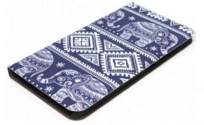 Husa Book Cover Tellur TLL112282 pentru Huawei P10 (Albastru/Alb)