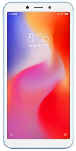 Telefon Mobil Xiaomi Redmi 6A, Procesor Quad-Core 2GHz, IPS LCD capacitive touchscreen 5.45inch, 2GB RAM, 16GB Flash, 13MP, Wi-Fi, 4G, Dual Sim, Android (Albastru)