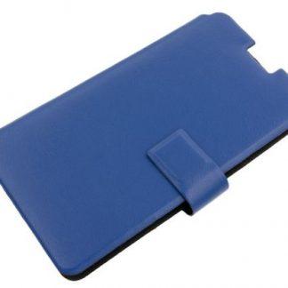Husa Universala Tellur TLL182121 pentru Telefoane pana la 4.5 inch (Albastru)