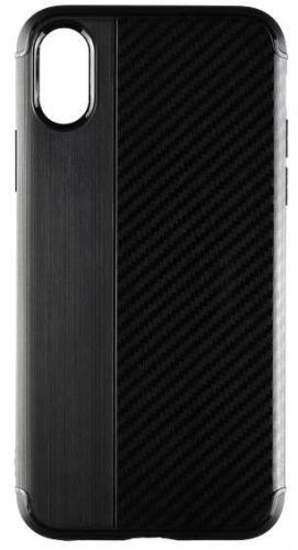 Protectie spate Star Carbon pentru Apple iPhone X (Negru)