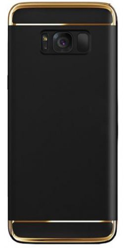 Protectie spate Star Case pentru Samsung Galaxy S8 (Negru/Auriu)