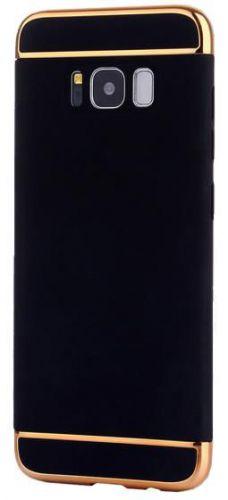 Protectie spate Star Case pentru Samsung Galaxy S8 Plus (Negru/Auriu)