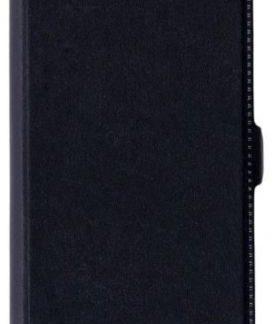 Husa Book Cover Star Pocket pentru LG Q6 (Negru)