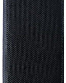 Husa Book Cover Star Smart pentru Huawei P20 Lite (Negru)