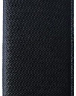 Husa Book Cover Star Smart pentru Huawei P20 Pro (Negru)
