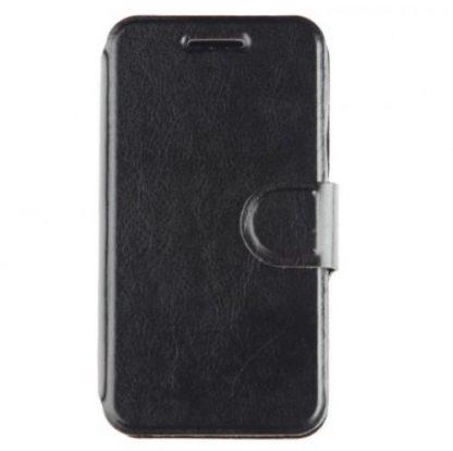 Husa Book Cover Tellur TLL115021 pentru Samsung Galaxy ACE 4 (Negru)