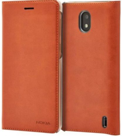 Husa Flip Cover Nokia CP-304 pentru Nokia 2 (Maro)