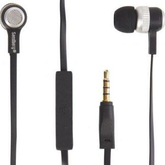 Casti Stereo Sandberg 480-11, Microfon (Negru)