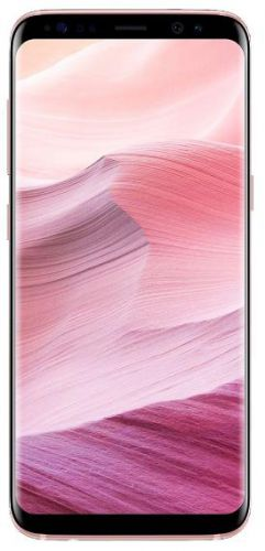 Telefon Mobil Samsung Galaxy S8 G950, Procesor Octa-Core 2.3GHz / 1.7GHz, Super AMOLED Capacitive touchscreen 5.8inch, 4GB RAM, 64GB Flash, 12MP, 4G, Wi-Fi, Android (Roz)