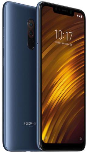 Telefon Mobil Xiaomi Pocophone F1, Procesor Octa-Core 2.8GHz/1.8GHz, IPS LCD capacitive touchscreen 5.99inch, 6GB RAM, 64GB Flash, Camera Duala 12+5MP, Wi-Fi, 4G, Dual Sim, Android (Albastru)