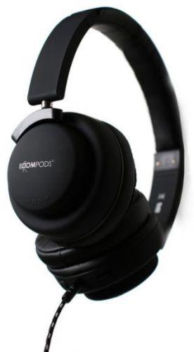 Casti Audio Boompods Hush HUSBLK, Jack 3.5mm, Microfon (Negru)