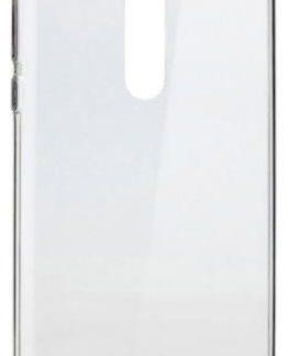 Protectie Spate Lemontti Silicon Ultraslim pentru Nokia 8 (Transparent)