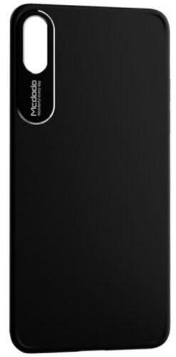 Protectie spate Mcdodo Sharp Aluminum Alloy pentru iPhone X (Negru)