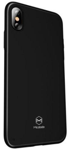 Protectie spate Mcdodo Super Vision Grip pentru iPhone X (Negru)