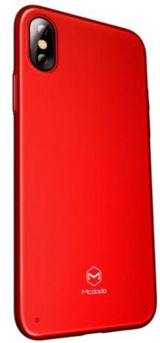 Protectie spate Mcdodo Super Vision Grip pentru iPhone X (Rosu)