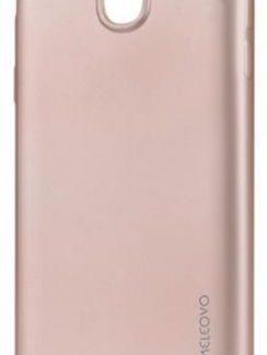 Protectie spate Meleovo Silicon Soft Slim pentru Samsung Galaxy J5 (2017) (Roz Mat)