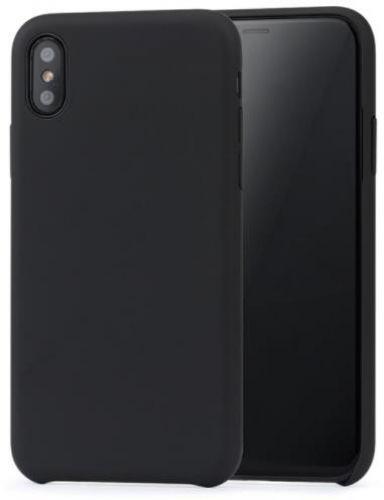 Protectie spate Meleovo Pure Gear II pentru iPhone X (Negru)