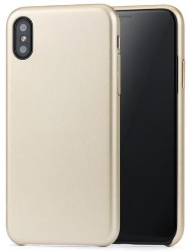 Protectie spate Meleovo Pure Gear II pentru iPhone X (Auriu)